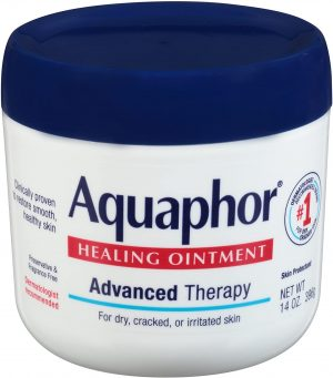 Aquaphor Healing Ointment - Moisturizing Skin Protectant for Dry Cracked Hands, Heels and Elbows, 14 oz. Jar