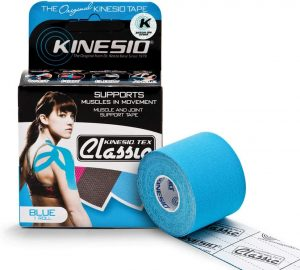 Kinesio Taping - Elastic Therapeutic Athletic Tape Tex Classic - Blue – 2 in. x 13 ft